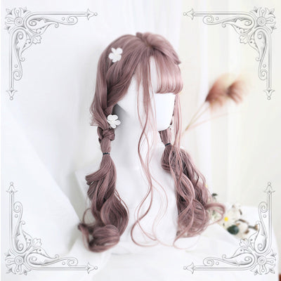 LOLITA LONG ROLL AIR BANGS WIG - juwas.com online store