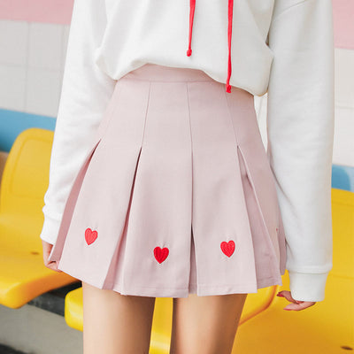 Lovely Pleated Skirt - juwas.com online store