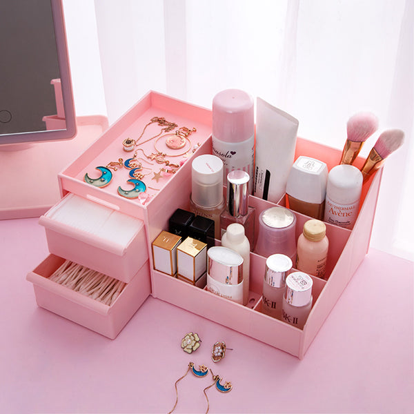 Multifunction Makeup Storage