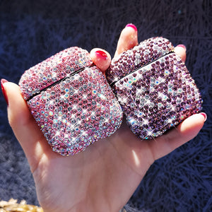 Luxury Rhinestone AirPods Case for AirPods 1 2