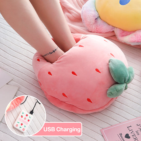 Kawaii Multi Function Electrical Feet Warmer