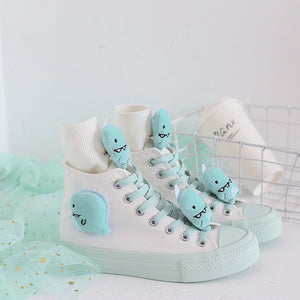 Little Dinosaur High Tops Sneaker and Socks