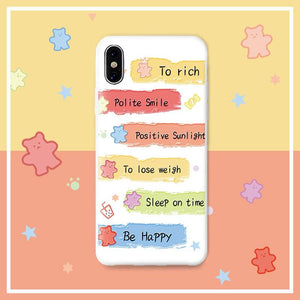 Friendly Reminder iPhone Case