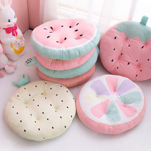 Kawaii Fruits Chair Pads