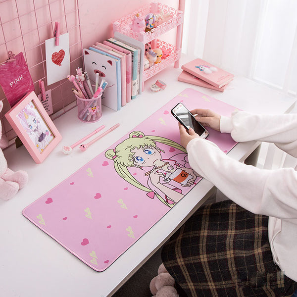 sailor moon long mouse pad - juwas.com online store