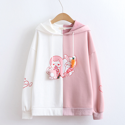 rabbit hoodies
