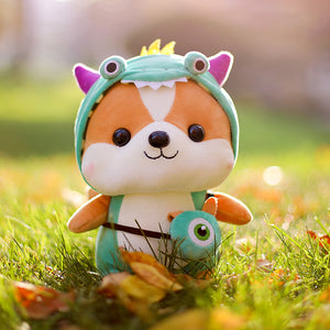 Adorable Dinosaur Squirrel Plush Toy
