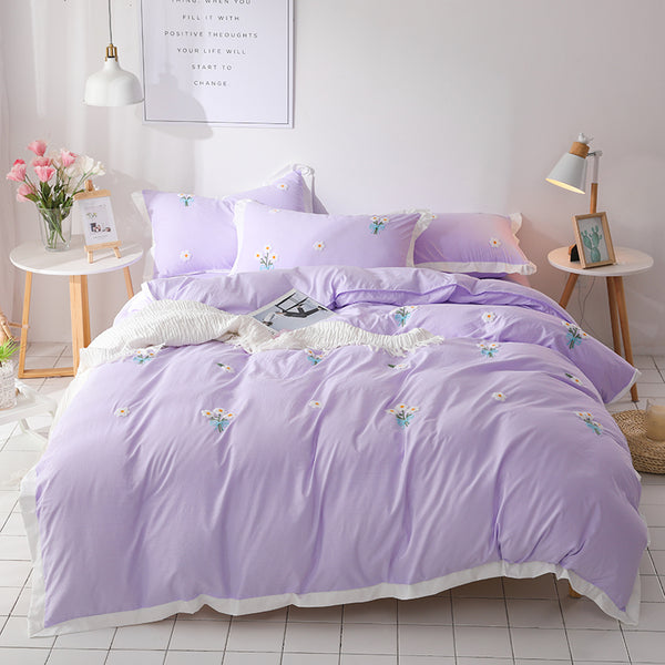 Sweet Princess Daisy Quilt Cover Set