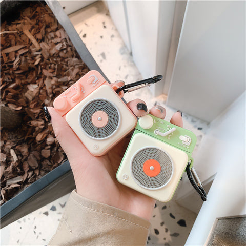 Retro Radio AirPods Case