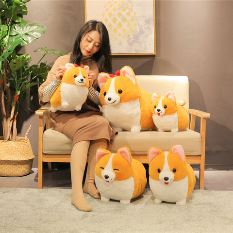 Cute Chubby Corgi Plush Toy