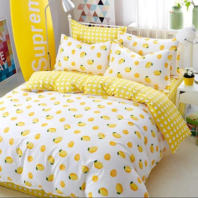 Lemon Bedding Set - juwas.com online store