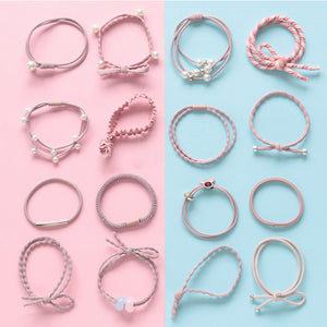 16pcs Color Oriented Hair Band