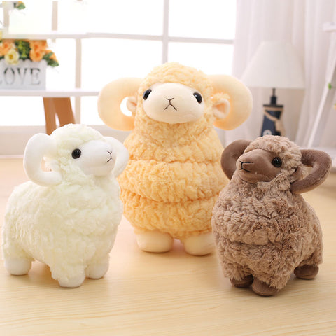 Adorable Sheep Plush Toy