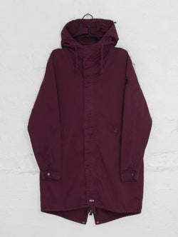 Urban Anorak Jacket in Burgundy