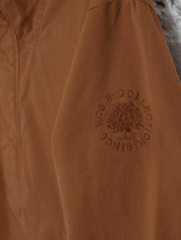 Urban Anorak Jacket in Chestnut