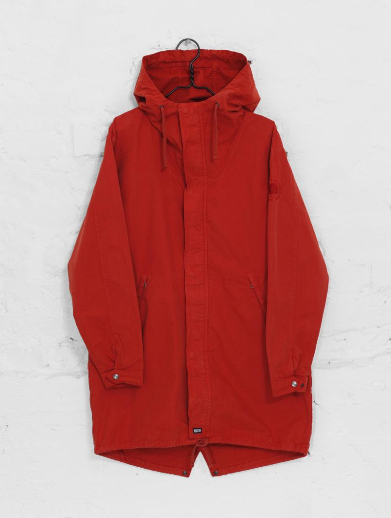 Urban Anorak Jacket in Scandinavian Red