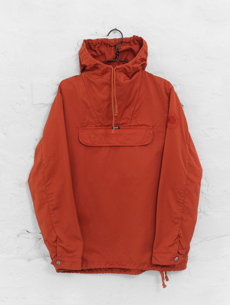 Classic Anorak Jacket in Brick