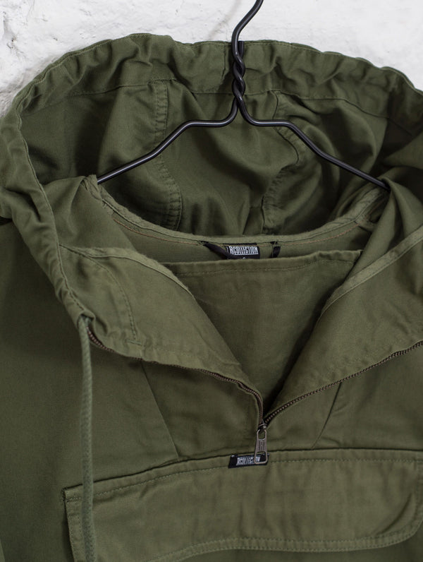 Classic Anorak Jacket in Moss Green