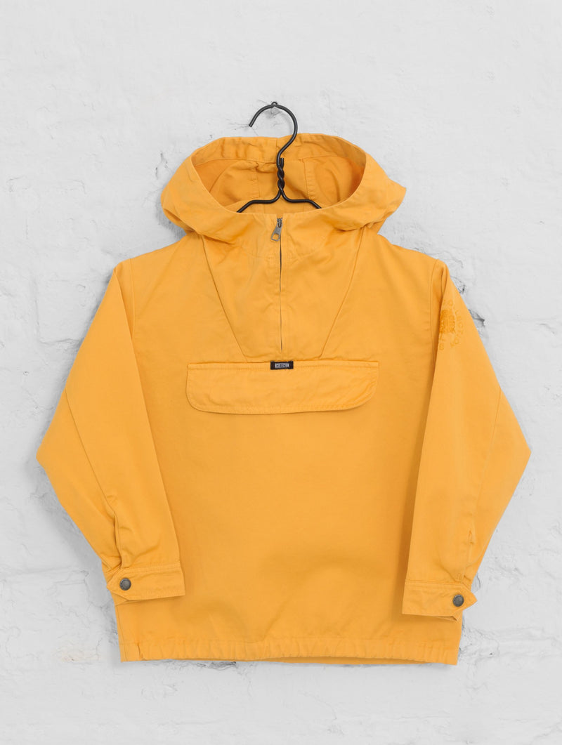 Children's Classic Anorak Jacket in Tangerine Yellow