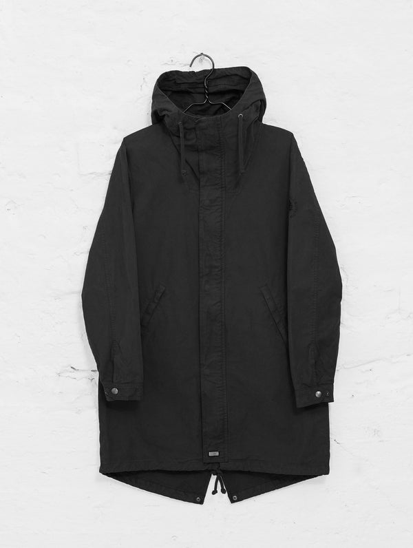 Urban Anorak Jacket in Black