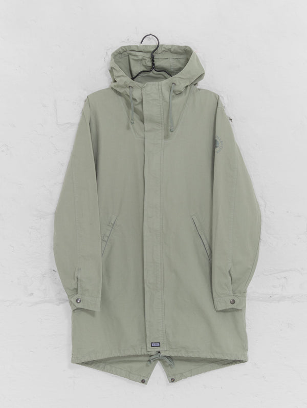 Urban Anorak Jacket in Fog Green