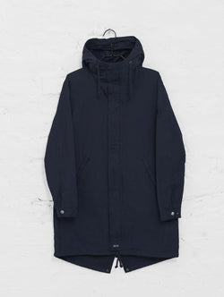 Urban Anorak Jacket in Ink Blue