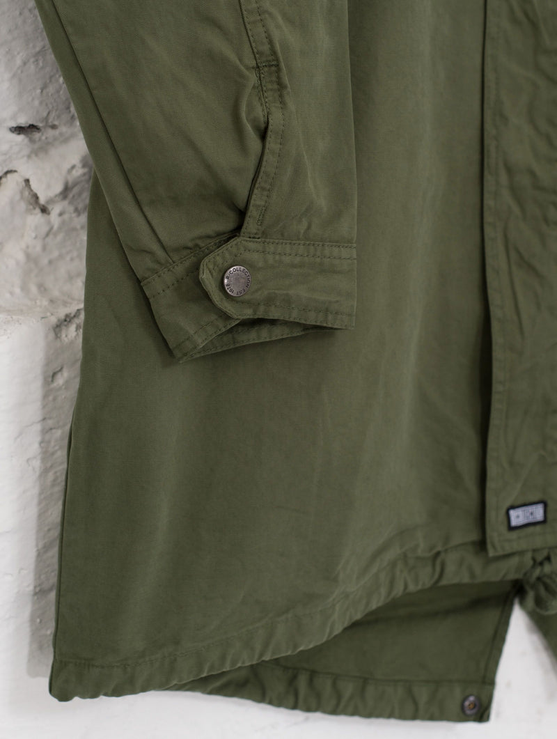 Urban Anorak Jacket in Moss Green