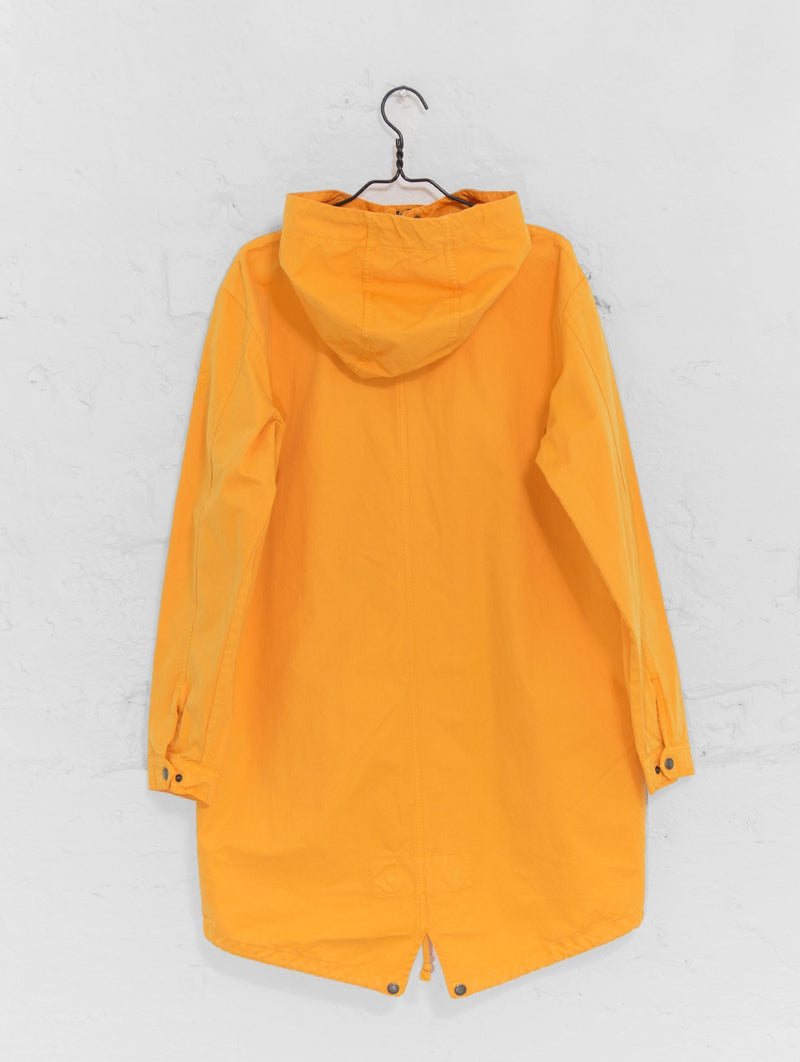 Urban Anorak Jacket in Tangerine Yellow