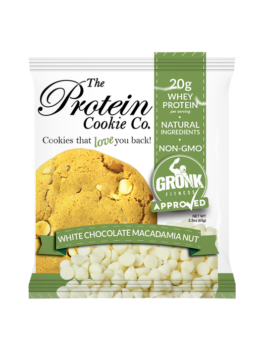 Macadamia Nut Protein Cookies