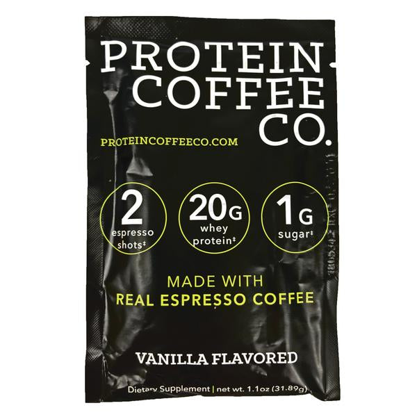Protein Coffee Co - Vanilla Single Serving - 1.1oz