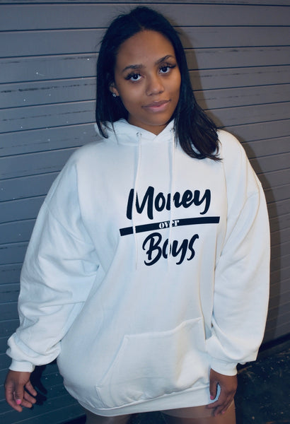 Money over Boys Hoodie