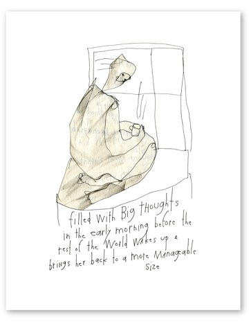 big thoughts print