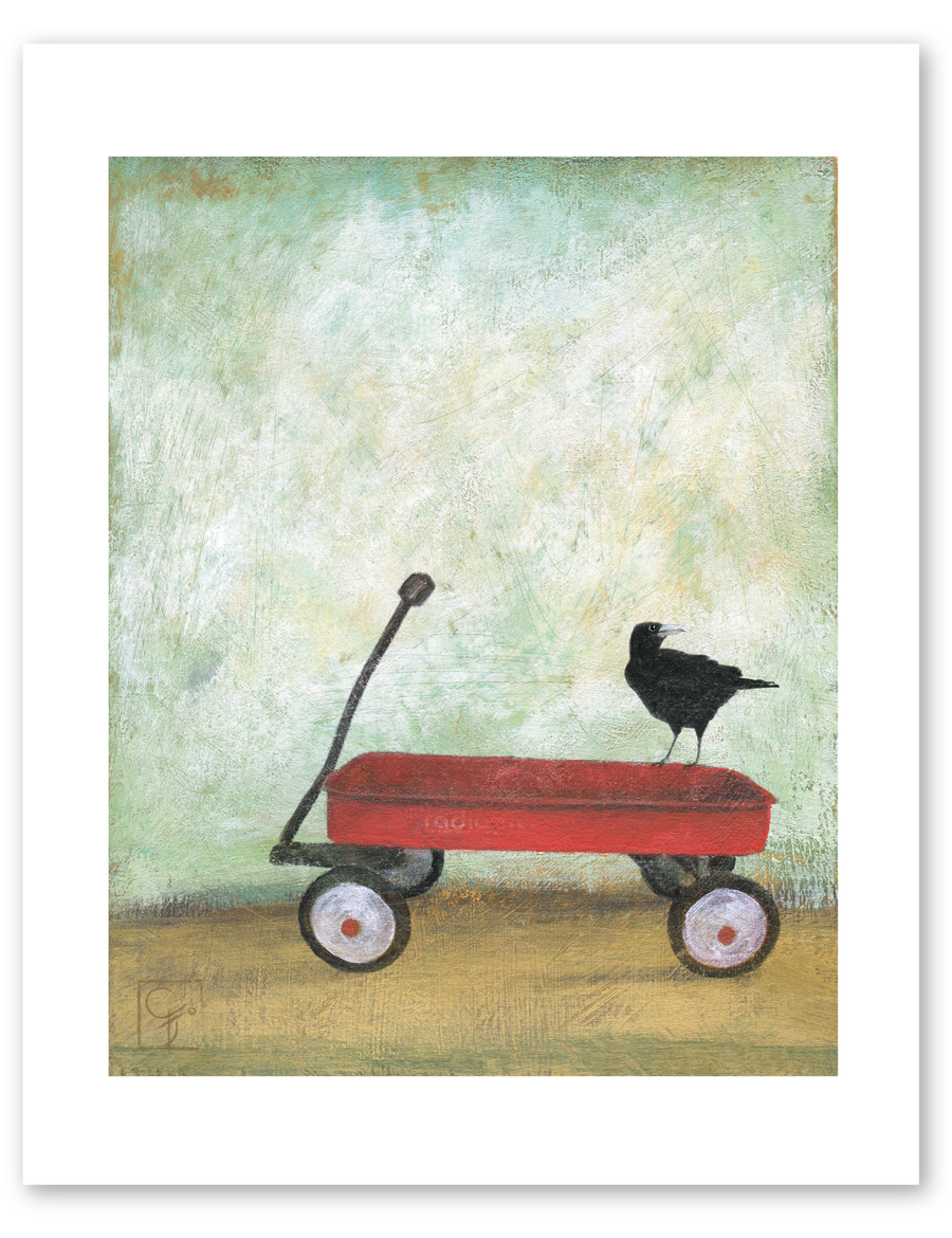 bird & brush: road trip print