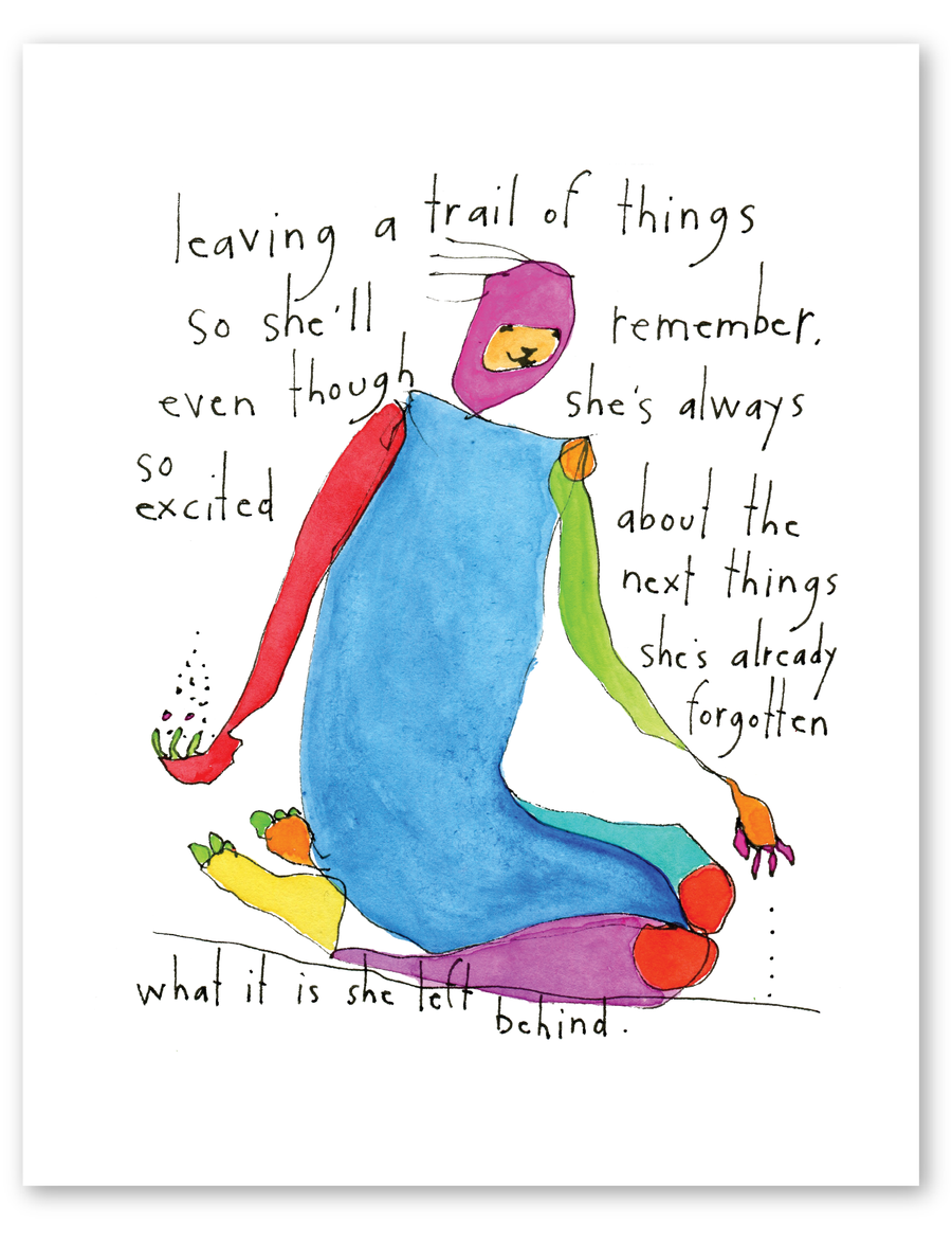 trail of things print