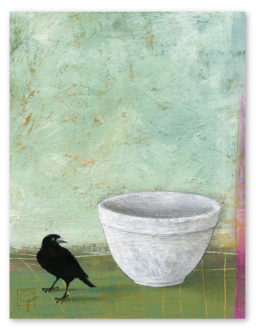 bird & brush: miranda bakes print