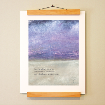 bird & brush: intuition print