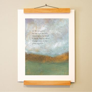 bird & brush: never enough time print