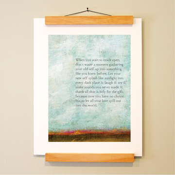 bird & brush: the gift of you print
