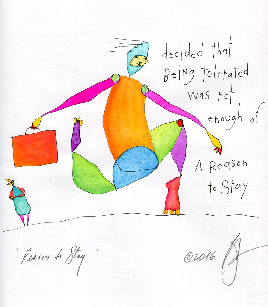 original: reason to stay