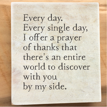 a prayer of thanks storyblock
