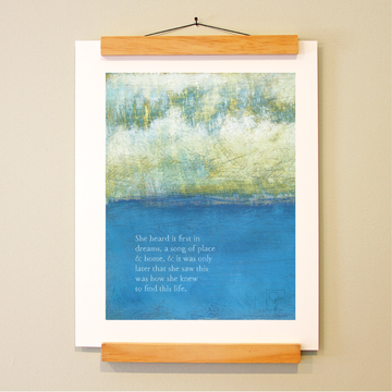 bird & brush: beacon print