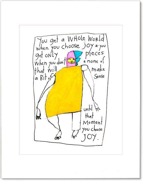 choose joy print