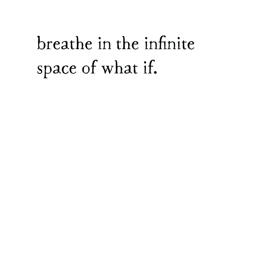 whispers: infinite space