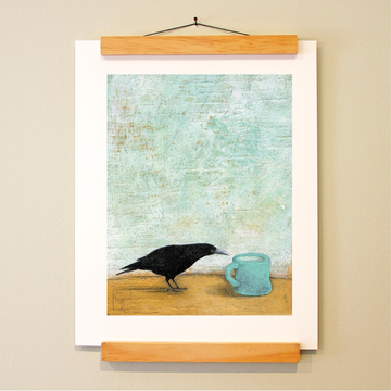 bird & brush: mornings with miranda print