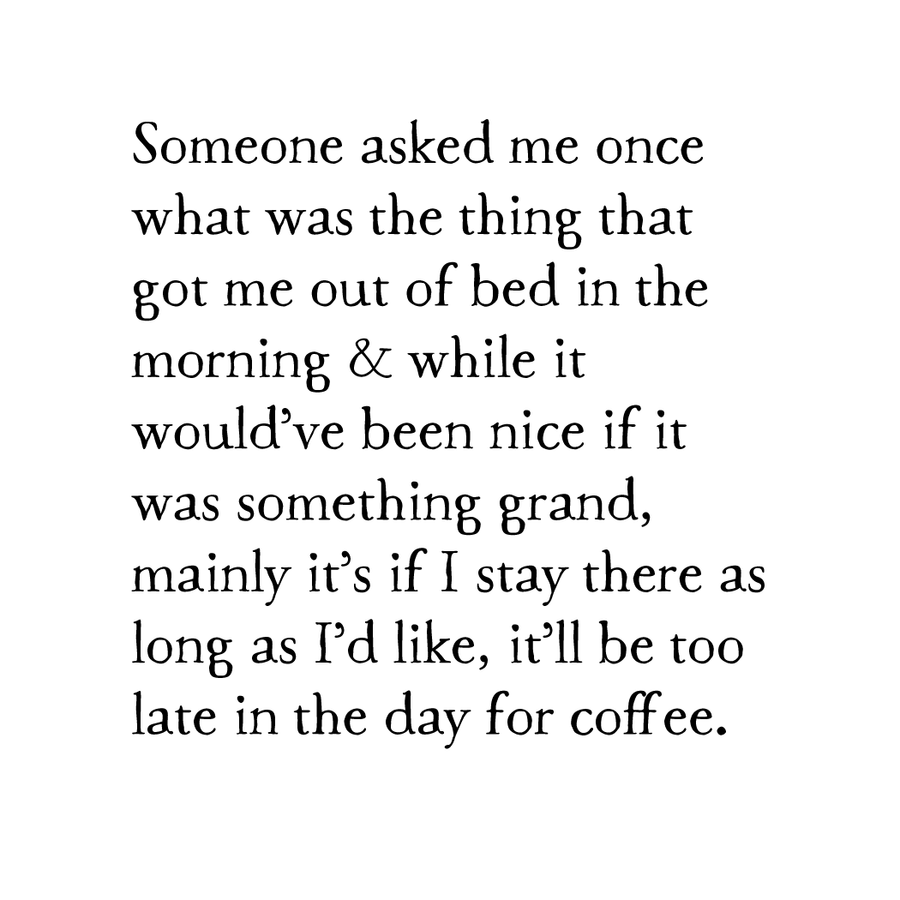 out of bed print