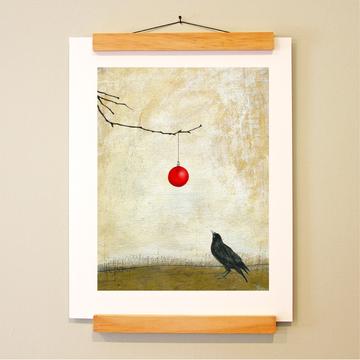 bird & brush: shiny things print