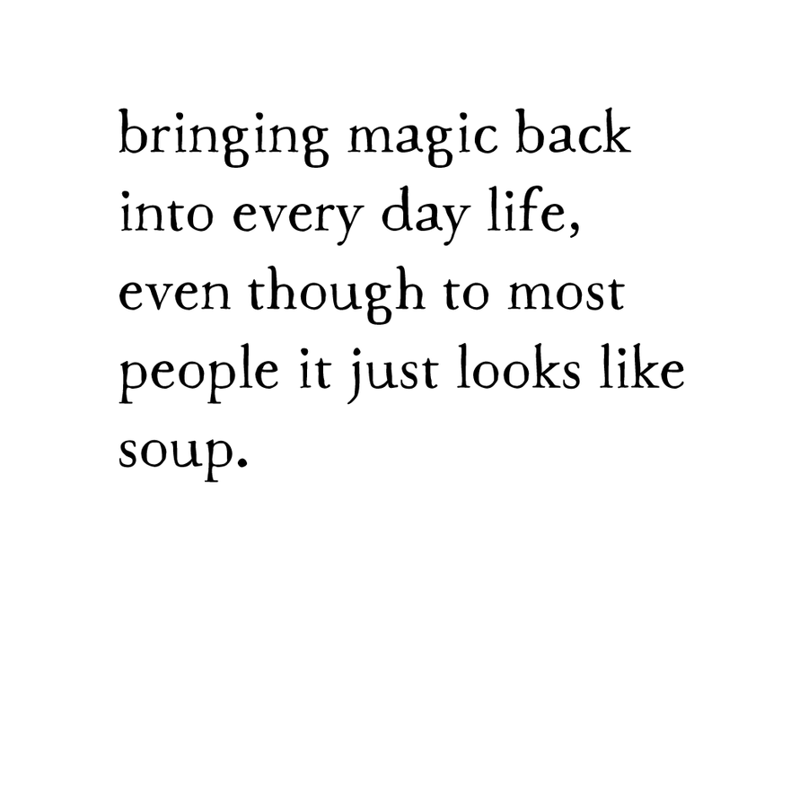 soup magic print