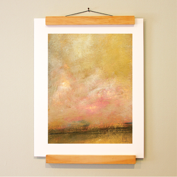bird & brush: sunrise print