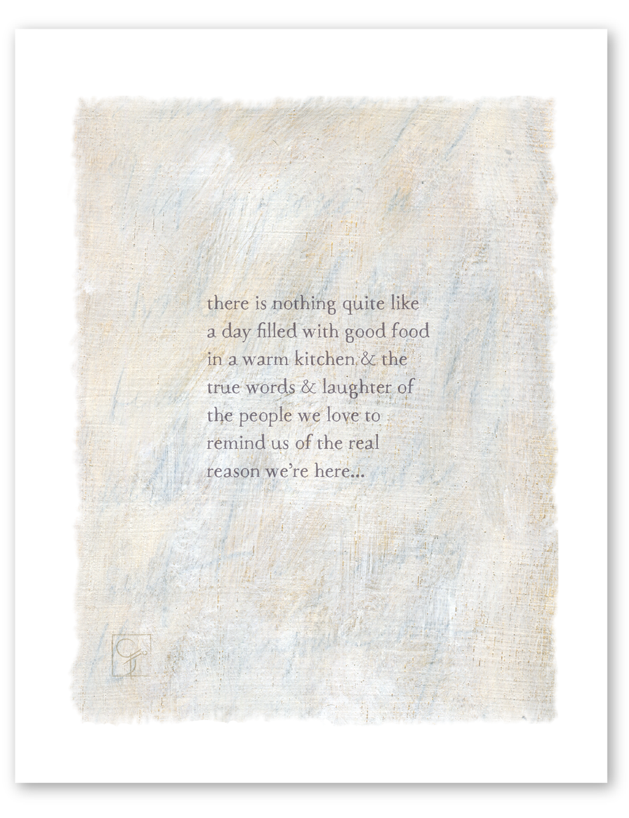 bird & brush: the reason print