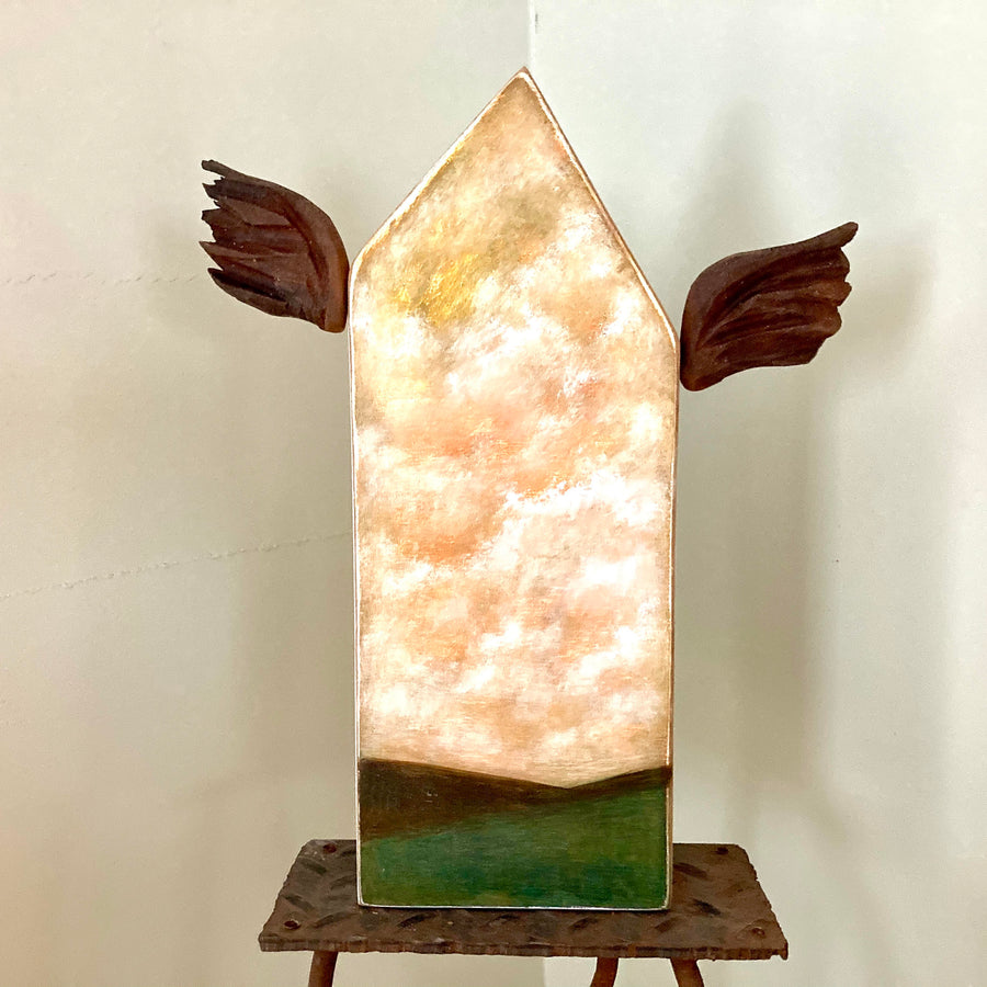 studio piece: house with wings #2